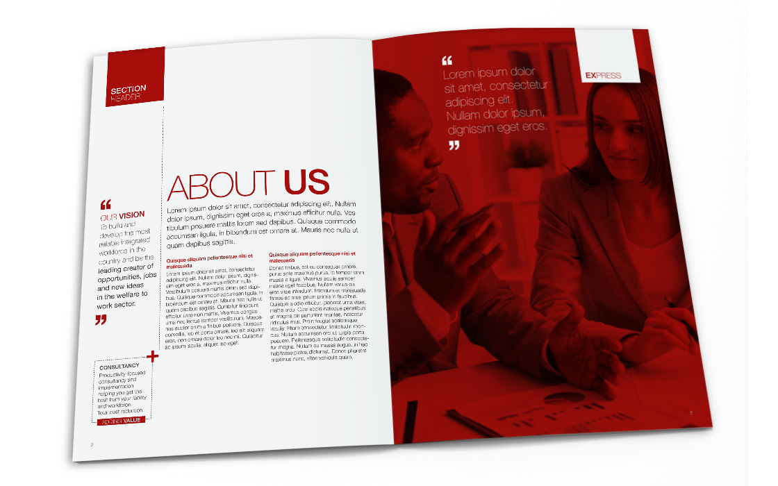 Corporate Brochure for Staffline by Doe Design